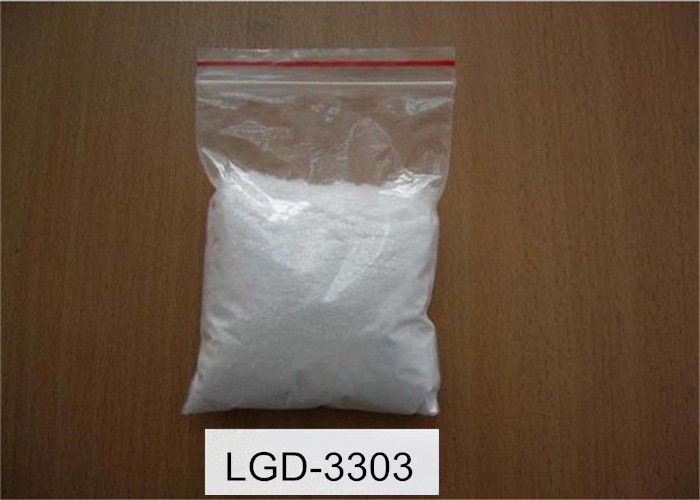 Muscle Strengthen SARMS Raw Powder Series LGD-3303 White Color CAS