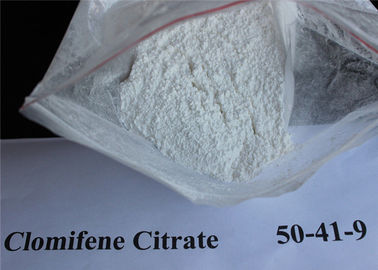 CAS 50-41-9 Clomid / Clomiphene Citrate Powder , Raw Steroid Powders